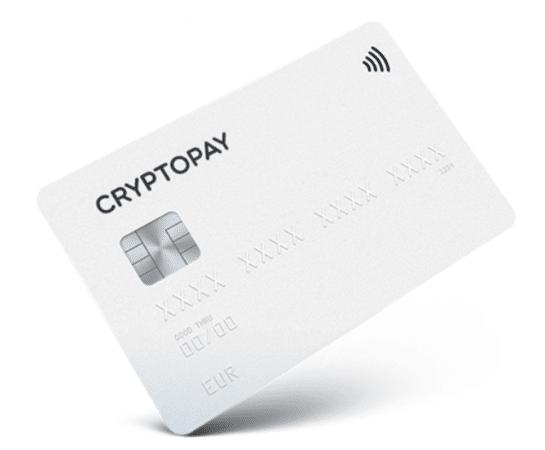 Cryptopay Crypto Debit Cards