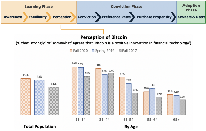 Perception of Bitcoin